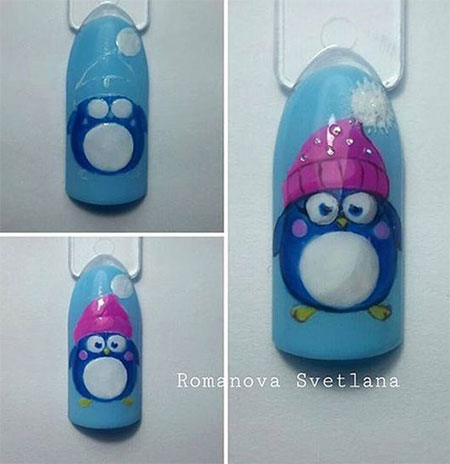 10-Easy-Simple-Winter-Nails-Art-Tutorials-For-Beginners-2017-10