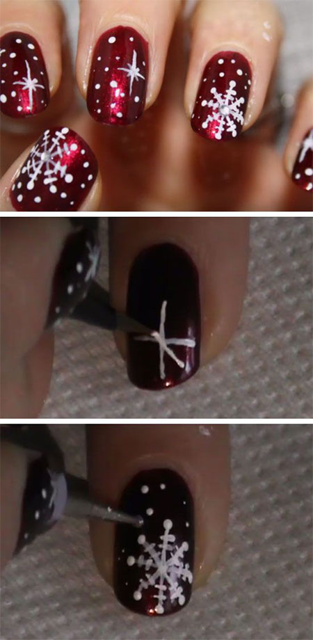 10-Easy-Simple-Winter-Nails-Art-Tutorials-For-Beginners-2017-11