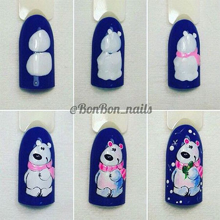10-Easy-Simple-Winter-Nails-Art-Tutorials-For-Beginners-2017-4