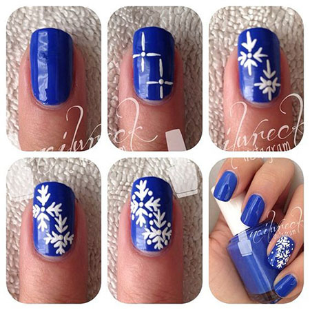 10-Easy-Simple-Winter-Nails-Art-Tutorials-For-Beginners-2017-5