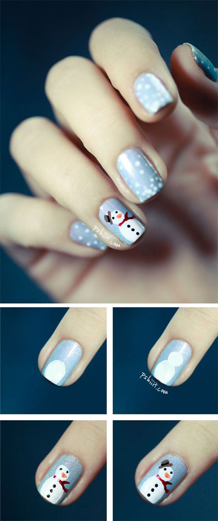 10-Easy-Simple-Winter-Nails-Art-Tutorials-For-Beginners-2017-8
