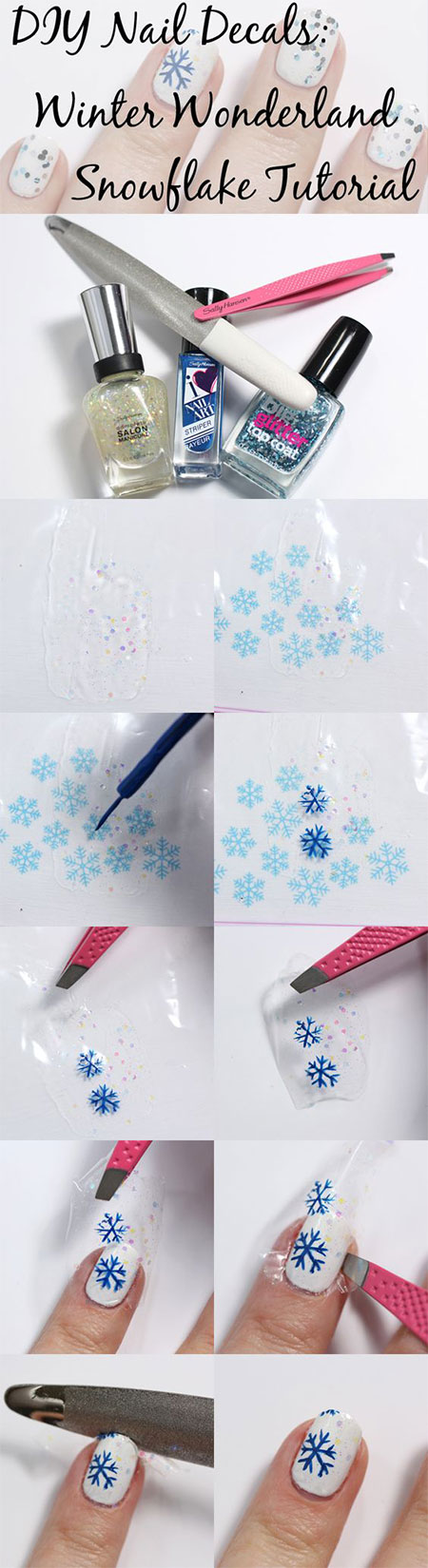 10-Easy-Simple-Winter-Nails-Art-Tutorials-For-Beginners-2017-9