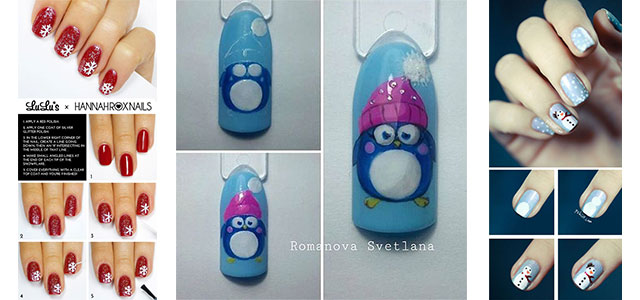 10-Easy-Simple-Winter-Nails-Art-Tutorials-For-Beginners-2017-f