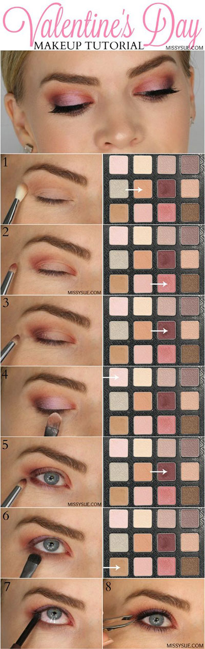 12-Valentines-Day-Makeup-Tutorials-For-Beginners-2017-10