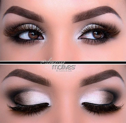 12-Winter-Themed-Eye-Makeup-Looks-Ideas-2016-2017-1