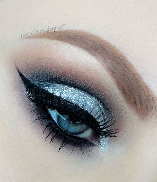 12 Winter Themed Eye Makeup Looks Amp Ideas 2016 2017