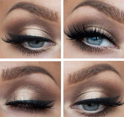12-Winter-Themed-Eye-Makeup-Looks-Ideas-2016-2017-4