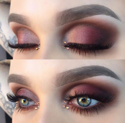 12-Winter-Themed-Eye-Makeup-Looks-Ideas-2016-2017-6