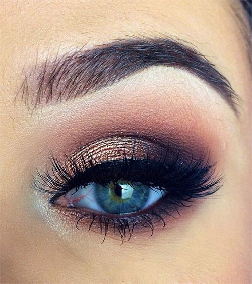 12-Winter-Themed-Eye-Makeup-Looks-Ideas-2016-2017-9