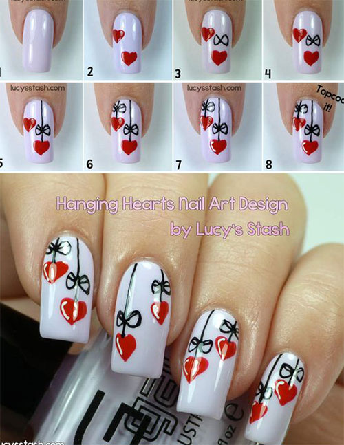15-Easy-Simple-Valentines-Day-Nails-Tutorials-For-Beginners-2017-2
