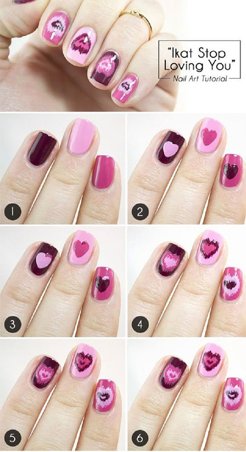 15-Easy-Simple-Valentines-Day-Nails-Tutorials-For-Beginners-2017-3