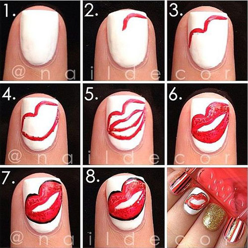 15-Easy-Simple-Valentines-Day-Nails-Tutorials-For-Beginners-2017-6