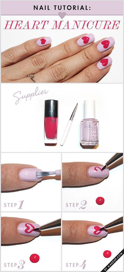 15-Easy-Simple-Valentines-Day-Nails-Tutorials-For-Beginners-2017-9