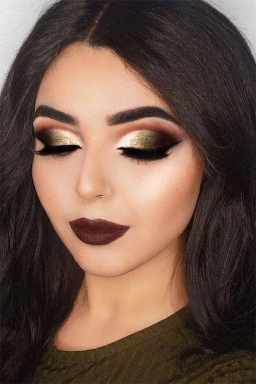15-Winter-Themed-Face-Makeup-Looks-Ideas-2017-10