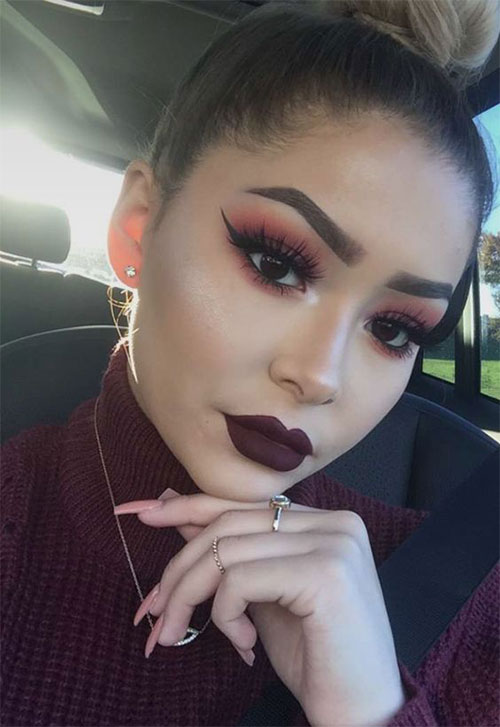 15-Winter-Themed-Face-Makeup-Looks-Ideas-2017-12
