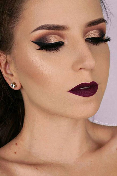 15-Winter-Themed-Face-Makeup-Looks-Ideas-2017-13