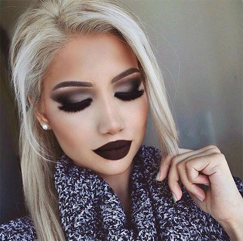 15-Winter-Themed-Face-Makeup-Looks-Ideas-2017-15