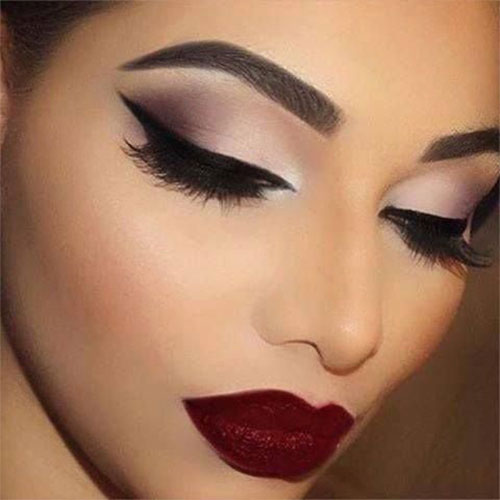 15-Winter-Themed-Face-Makeup-Looks-Ideas-2017-16