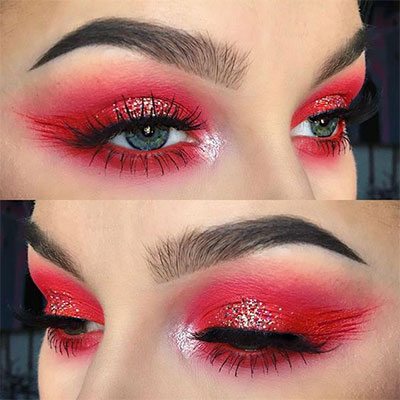 Valentines day makeup looks