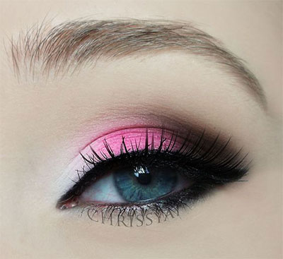 20-Best-Valentines-Day-Face-Eye-Makeup-Ideas-Looks-2017-14