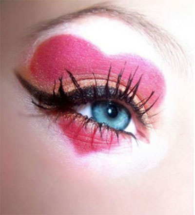 20-Best-Valentines-Day-Face-Eye-Makeup-Ideas-Looks-2017-15