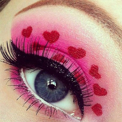 20-Best-Valentines-Day-Face-Eye-Makeup-Ideas-Looks-2017-16