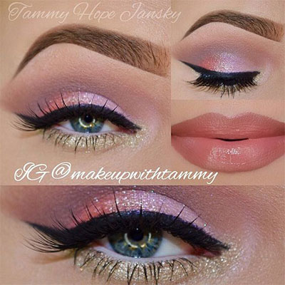20-Best-Valentines-Day-Face-Eye-Makeup-Ideas-Looks-2017-19