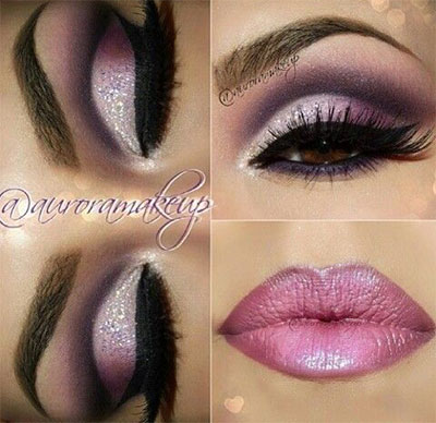 20-Best-Valentines-Day-Face-Eye-Makeup-Ideas-Looks-2017-20