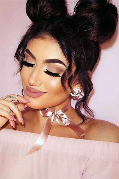 20-Best-Valentines-Day-Face-Eye-Makeup-Ideas-Looks-2017-7