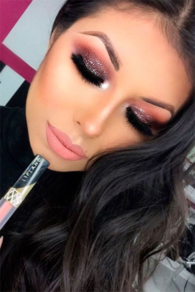 20-Best-Valentines-Day-Face-Eye-Makeup-Ideas-Looks-2017-9
