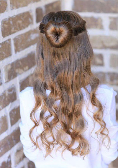 20-Valentines-Day-Hairstyles-For-Kids-Girls-Women-2016-7