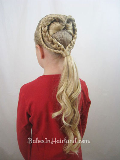 20-Valentines-Day-Hairstyles-For-Kids-Girls-Women-2016-9