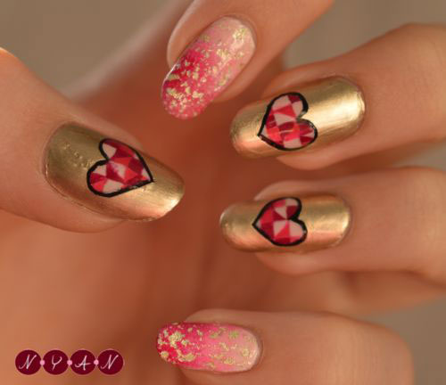 25-Best-Valentines-Day-Nail-Art-Designs-Ideas-Vday-Nails-17
