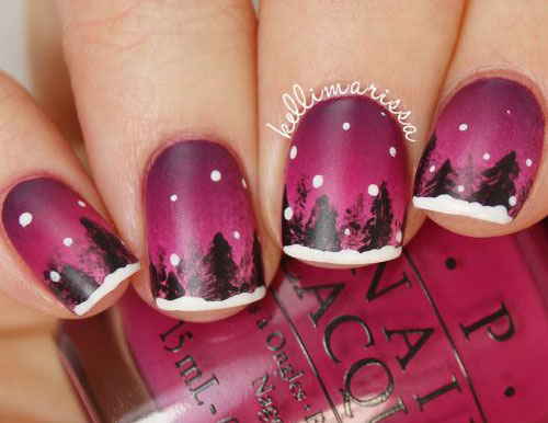 25 best winter nail art designs ideas 2017 - Nail Art Designs Ideas