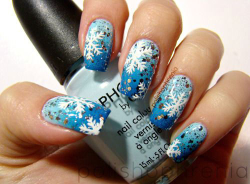 25 Best Winter Nail Art Designs Ideas 2017