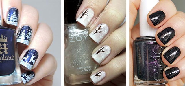 25 best winter nail art designs ideas 2017 modern fashion blog moisturize your hands and keep them damp with some good lotion or cold cream because it is winter and not only the trees or flowers get withered away but it prinsesfo Choice Image