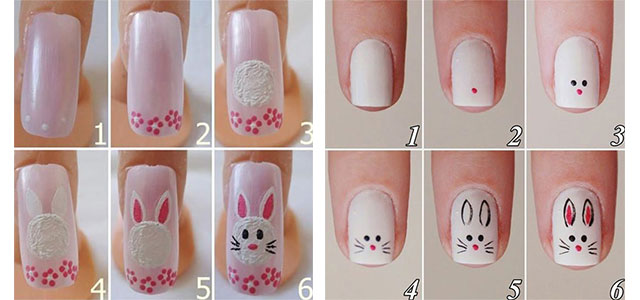 Even after going through thousands of right and wrong tries, I still look  up for the online nail art tutorials to help me through the intricate  designs, ... - 10 Step By Step Easter Nail Art Tutorials For Learners 2017 Modern