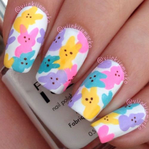30-Easter-Nail-Art-Designs-Ideas-2017-5 - 30+ Easter Nail Art Designs & Ideas 2017 Modern Fashion Blog