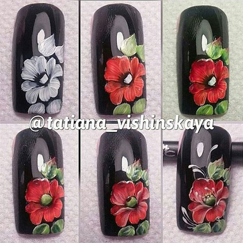 10-Step-By-Step-Spring-Floral-Nail-Art-Tutorials-For-Learners-2017-1