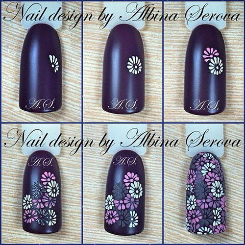 10-Step-By-Step-Spring-Floral-Nail-Art-Tutorials-For-Learners-2017-9