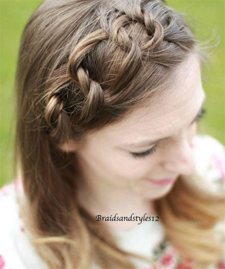 15+ Spring Hair Ideas For Short, Medium & Long Hair | Braiding ...