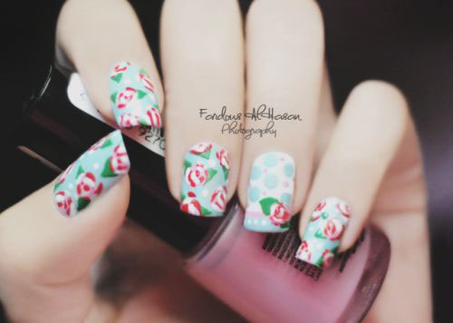 20-Floral-Nail-Art-Designs-Ideas-2017-Spring-Nails-1