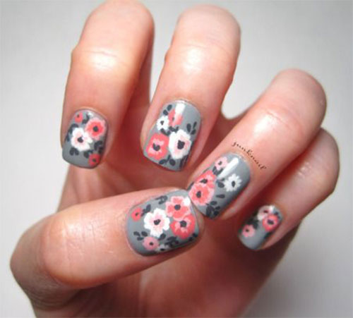 20-Floral-Nail-Art-Designs-Ideas-2017-Spring-Nails-11