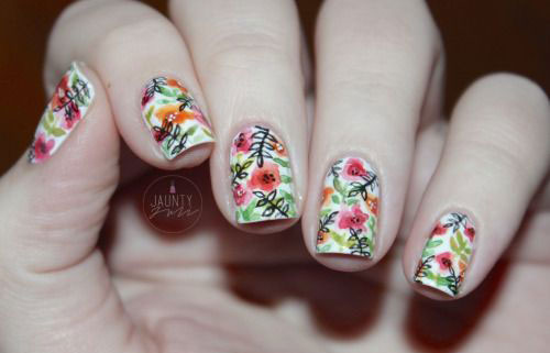 20-Floral-Nail-Art-Designs-Ideas-2017-Spring-Nails-17
