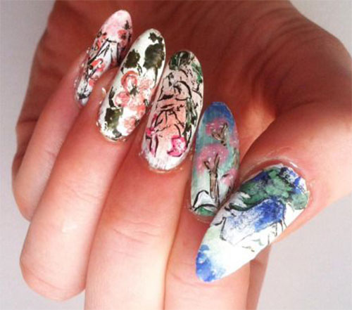 20-Floral-Nail-Art-Designs-Ideas-2017-Spring-Nails-21