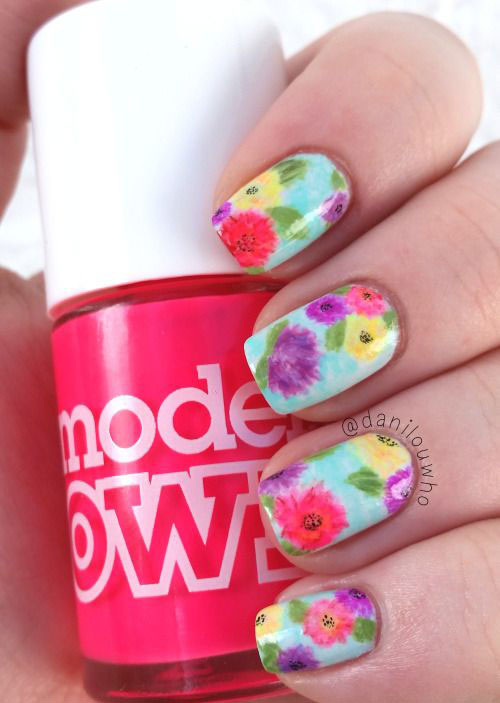 20-Floral-Nail-Art-Designs-Ideas-2017-Spring-Nails-3