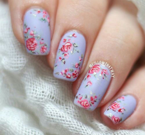 20-Floral-Nail-Art-Designs-Ideas-2017-Spring-Nails-5