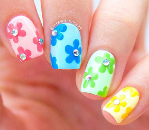 20-Floral-Nail-Art-Designs-Ideas-2017-Spring-Nails-6