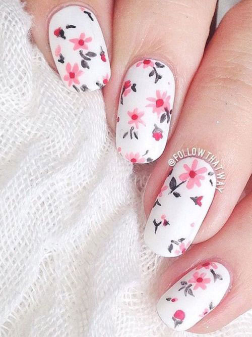 20-Floral-Nail-Art-Designs-Ideas-2017-Spring-Nails-8