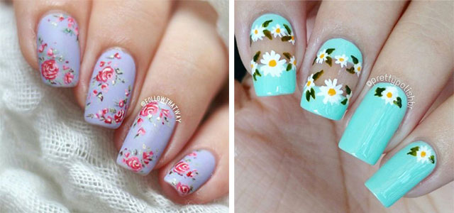 20 Floral Nail Art Designs Ideas 2017 Spring Nails Modern